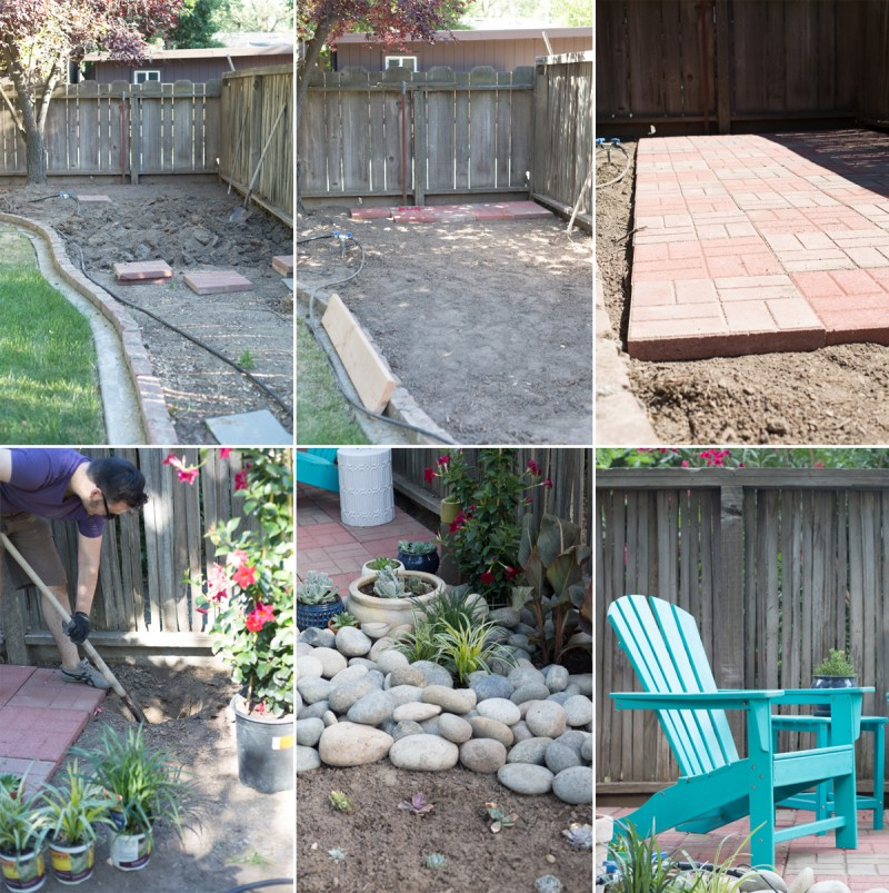 DIY Backyard Patio » Lovely Indeed on Diy Back Patio Ideas id=80911