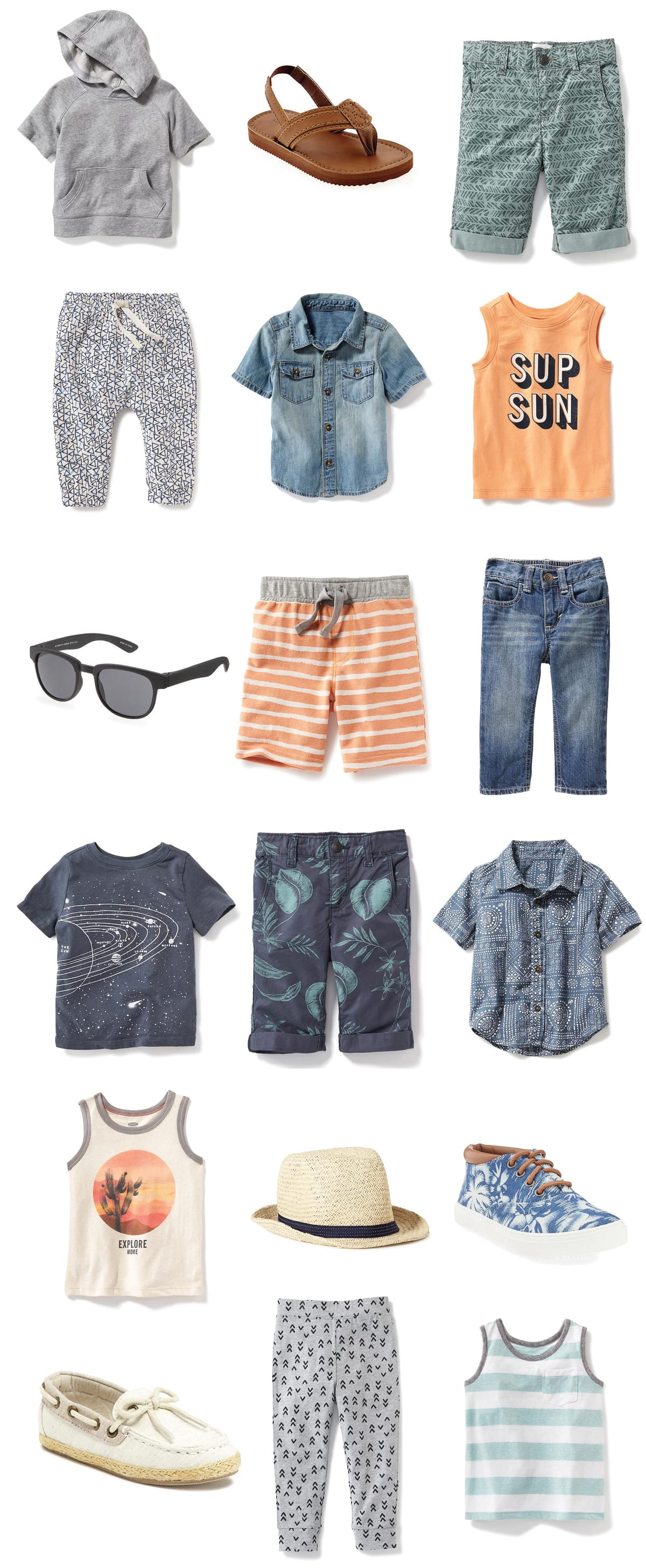 Cool And Affordable Warm Weather Clothes For Toddler