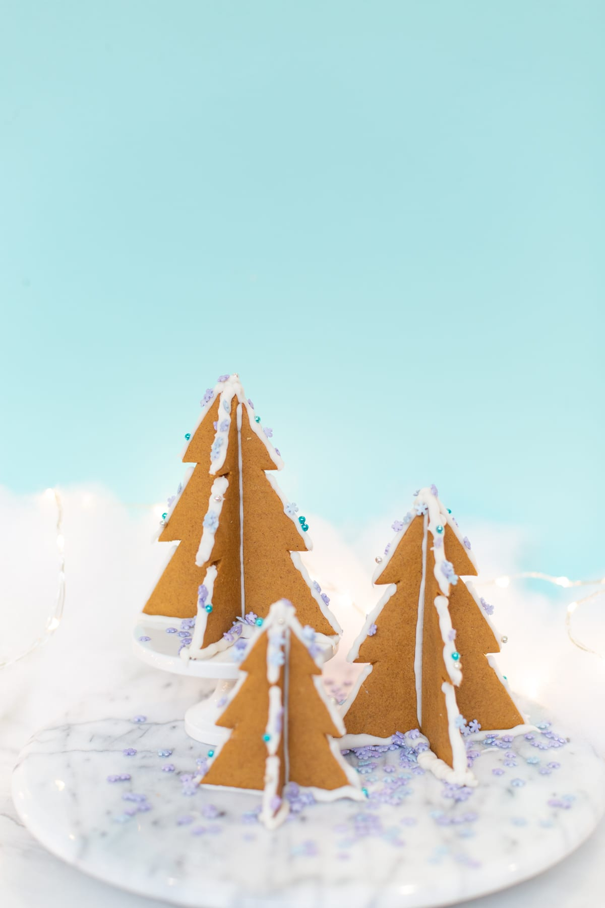 How To Make 3d Gingerbread Christmas Trees Lovely Indeed
