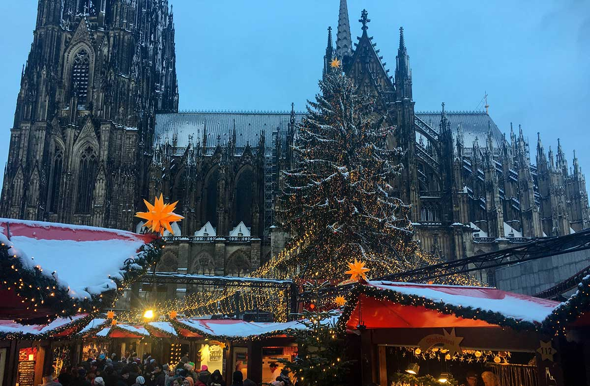Winter in Cologne