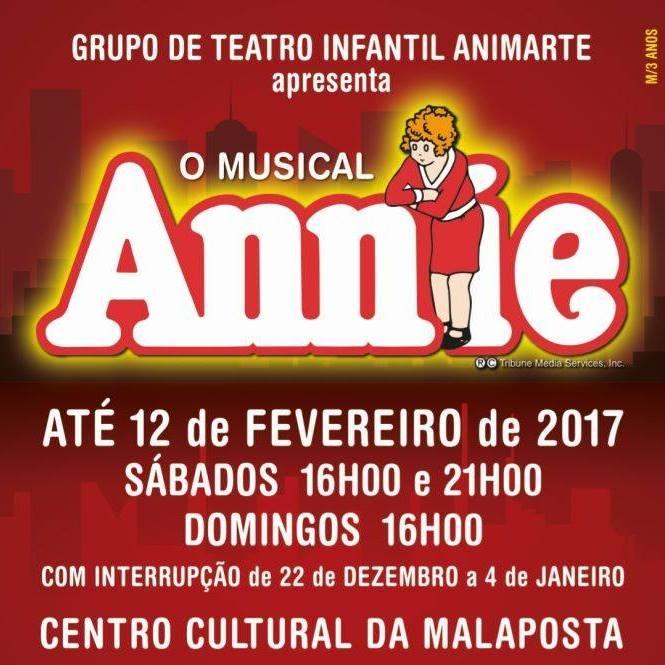 Passatempo Annie – Teatro Infantil