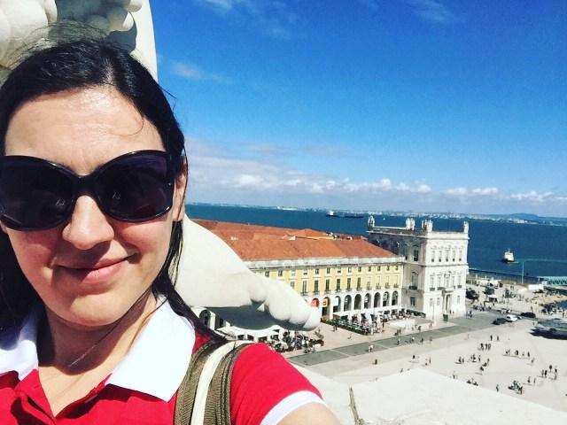 Miradouro do Arco da Rua Augusta Lisboa Portugal