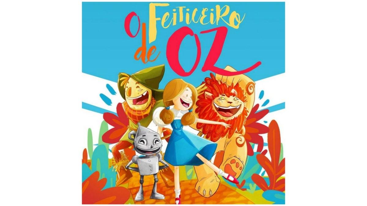 Passatempo O feiticeiro de Oz - Teatro Infantil