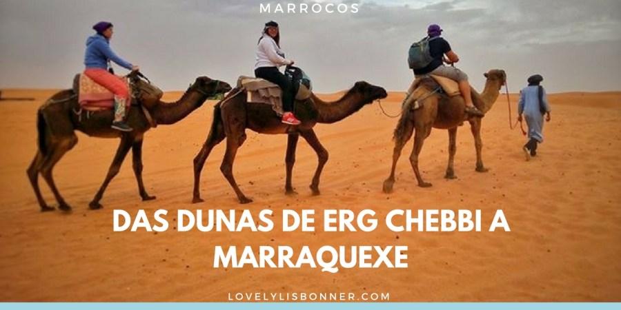 Diário de Viagem - Marrocos - das Dunas de Erg Chebbi a Marraquexe- Parte 3