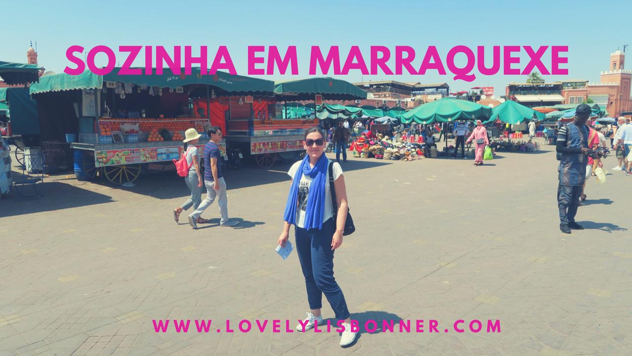 Sozinha em Marraquexe