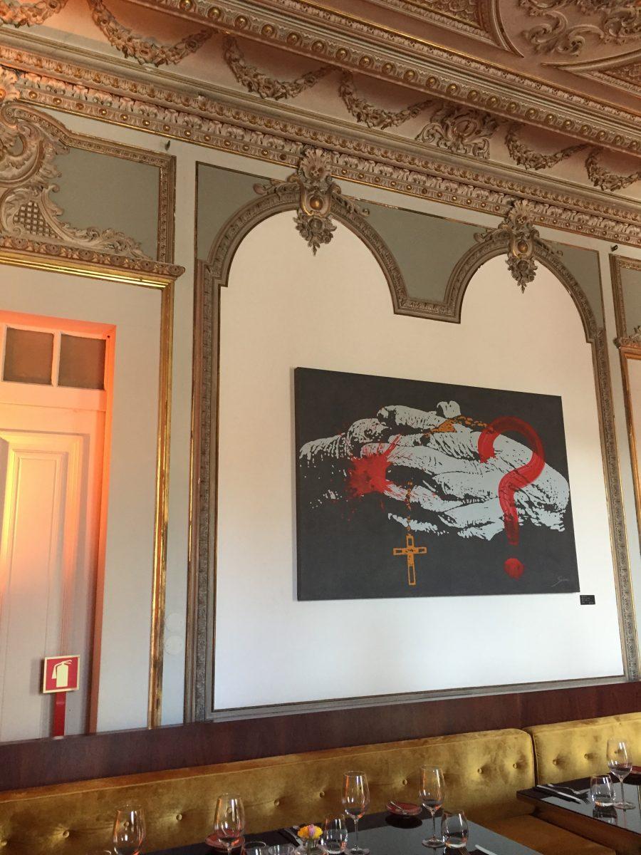 Palácio Chiado - Pintura de Sícho
