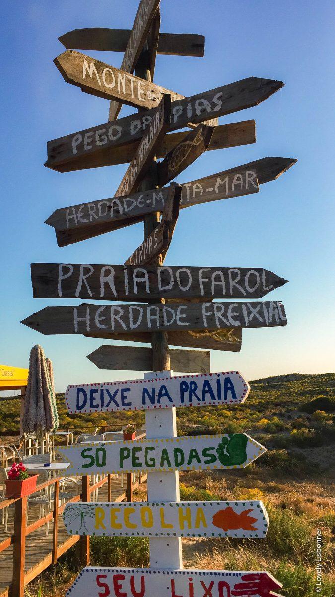 praia das furnas vila nova de mil fontes odemira alentejo portugal