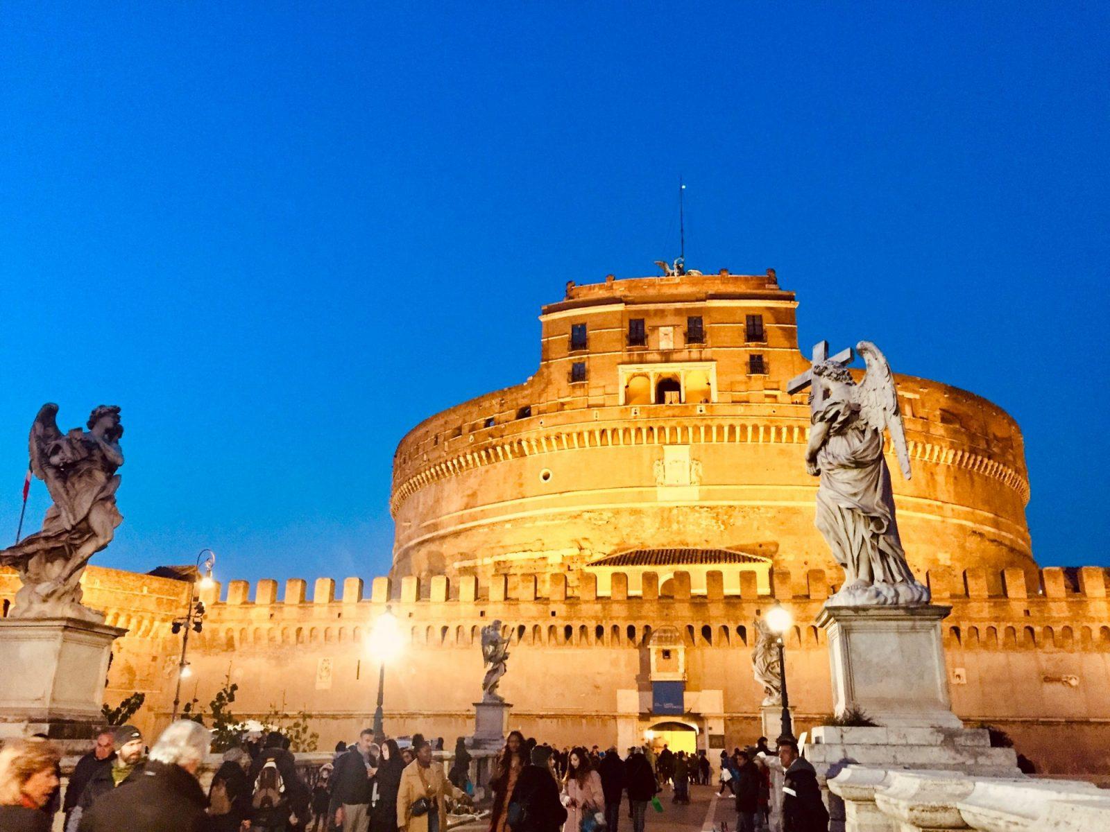 castelo sant'angelo roma itália