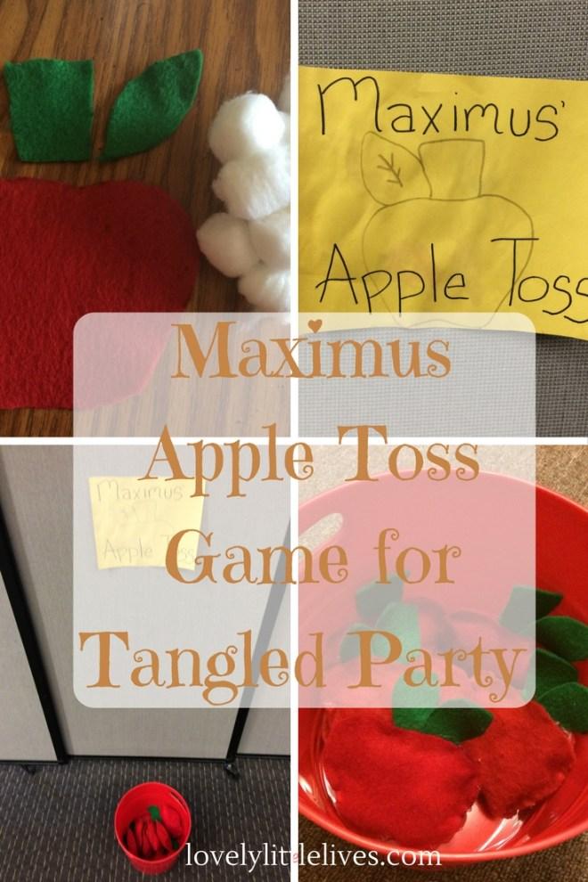 Tangled Apple Toss Game