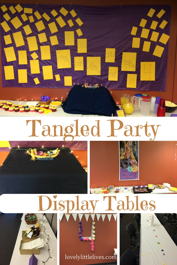Tangled Display Tables