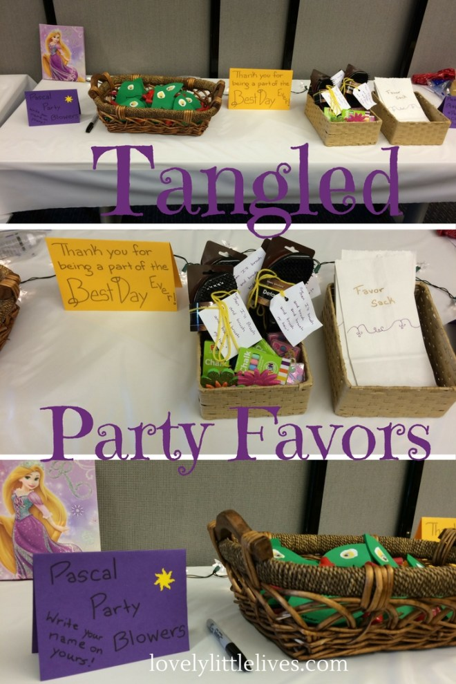 Tangled Party Favors