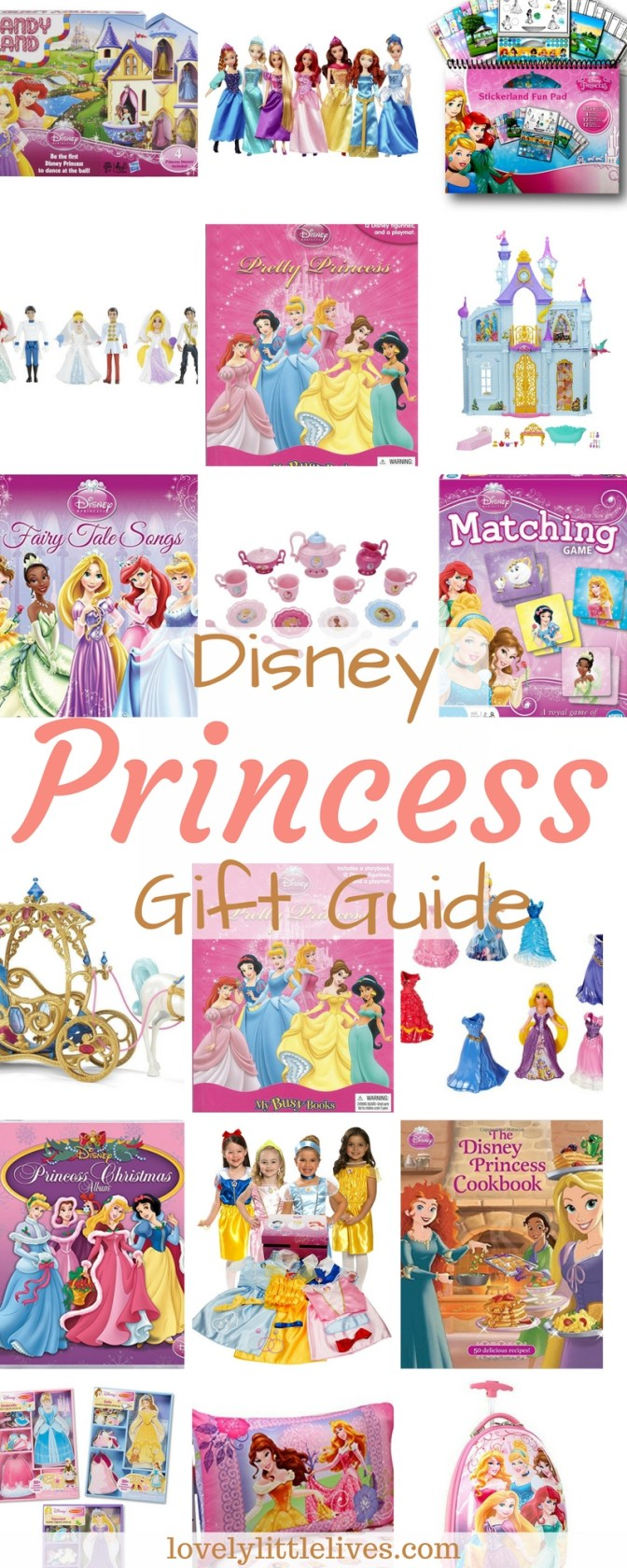 Disney Princess Gift Guide for Your Little Princess