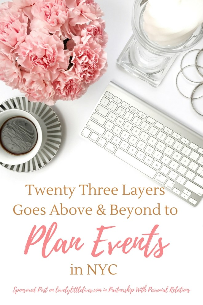 Twenty Three Layers Goes Above and Beyond to Plan Events in NYC