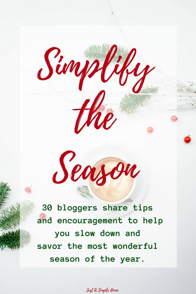 Simplify the Season Blog Party