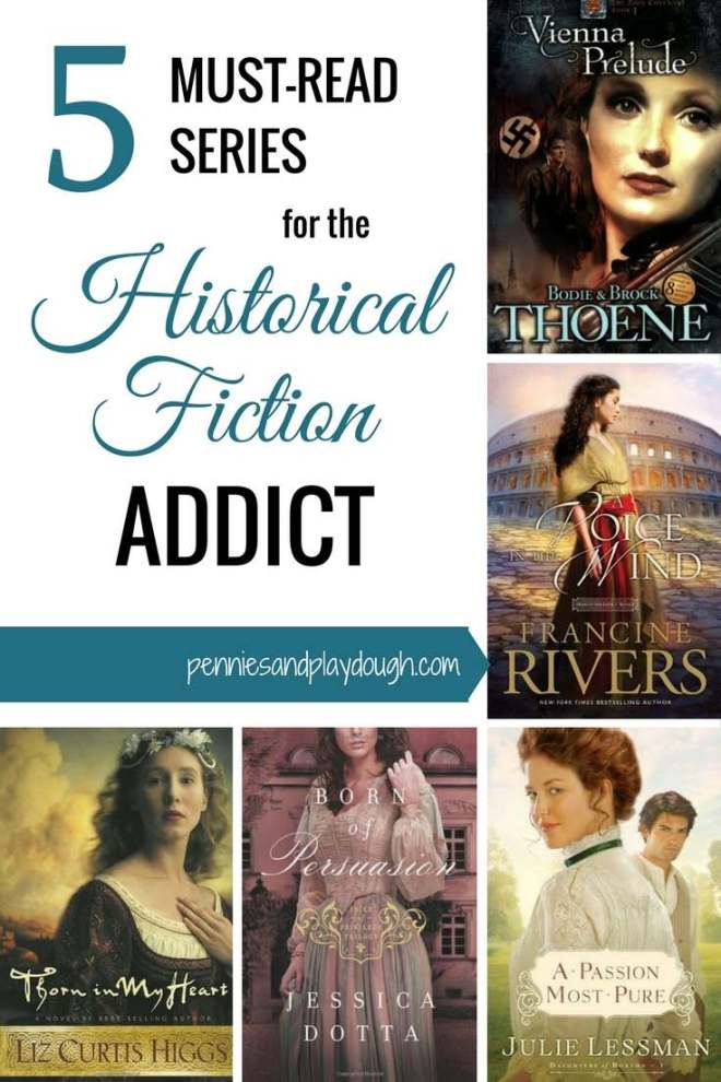 5 MUST-READ SERIES FOR THE HISTORICAL FICTION ADDICT