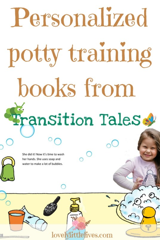 Personalized potty training books for toddlers from transition tales |How to Potty Train| #toddlers #pottytrainingtips #toliettraining