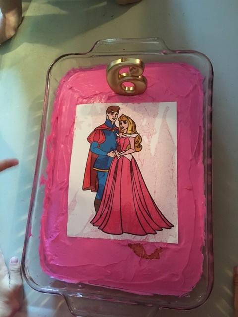 Sleeping Beauty birthday party