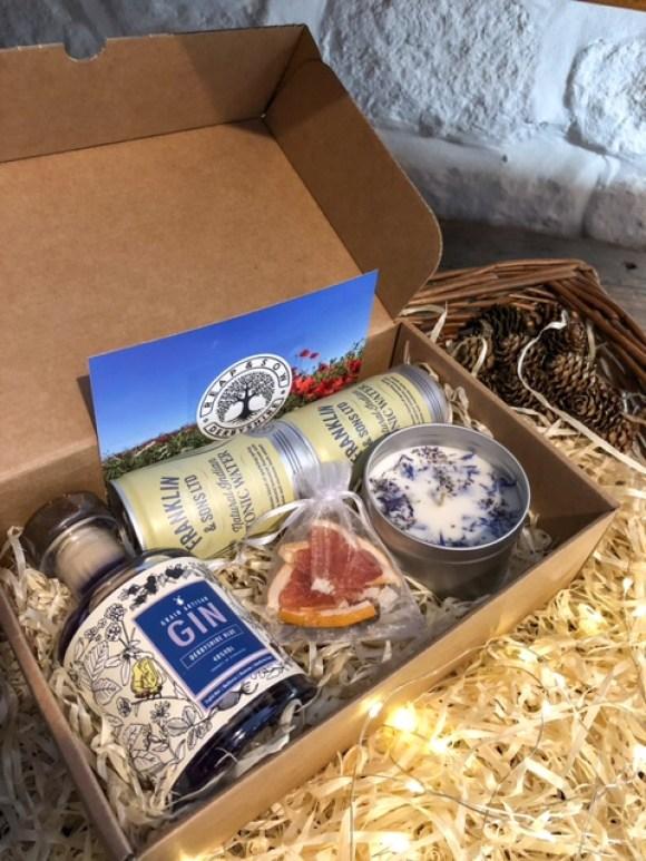 Derbyshire gin gift pack