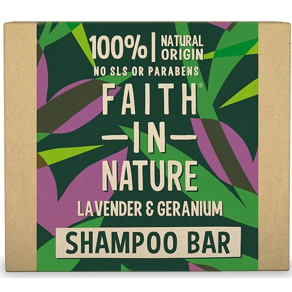 Eco swaps - ditch plastic bottles for eco friendly shampoo bars like this Faith in Nature bar