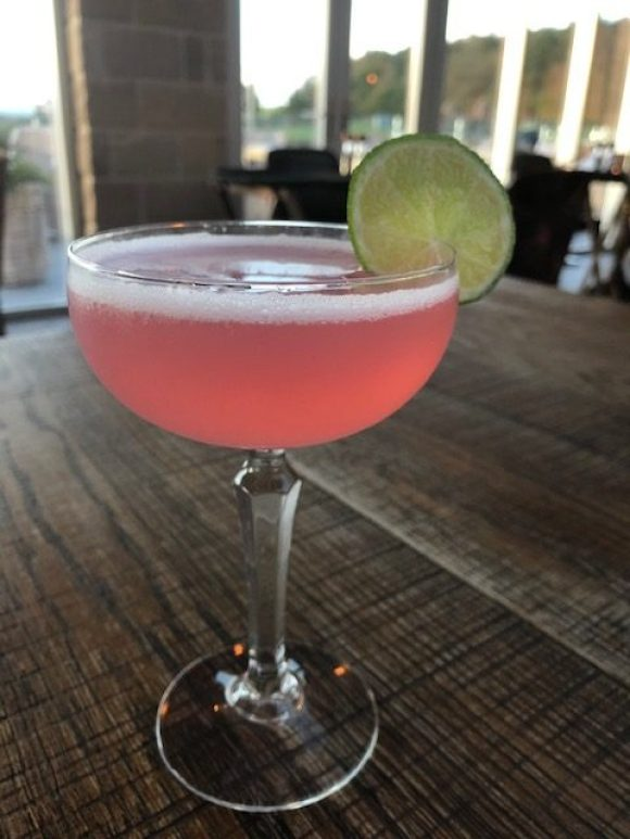 cosmopolitan cocktail at Red Lion Peak edge hotel - girly Peak District weekend breaks