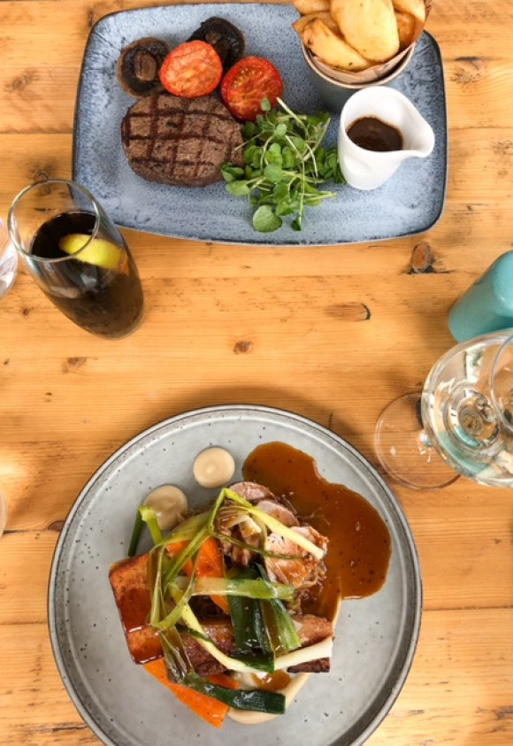 Bluebell South Wingfield main courses