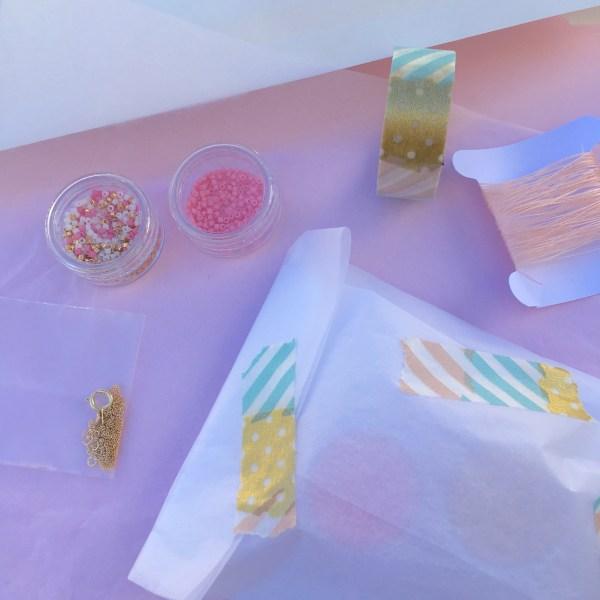 Emballage des kits collier