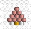 Diagramme mini maison pour tuto express brick stitch