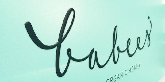 Babee's logo detail