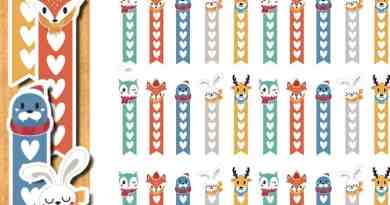 Free Winter animals checklist stickers - Free printable and cut files {Advent Calendar - Day 20}