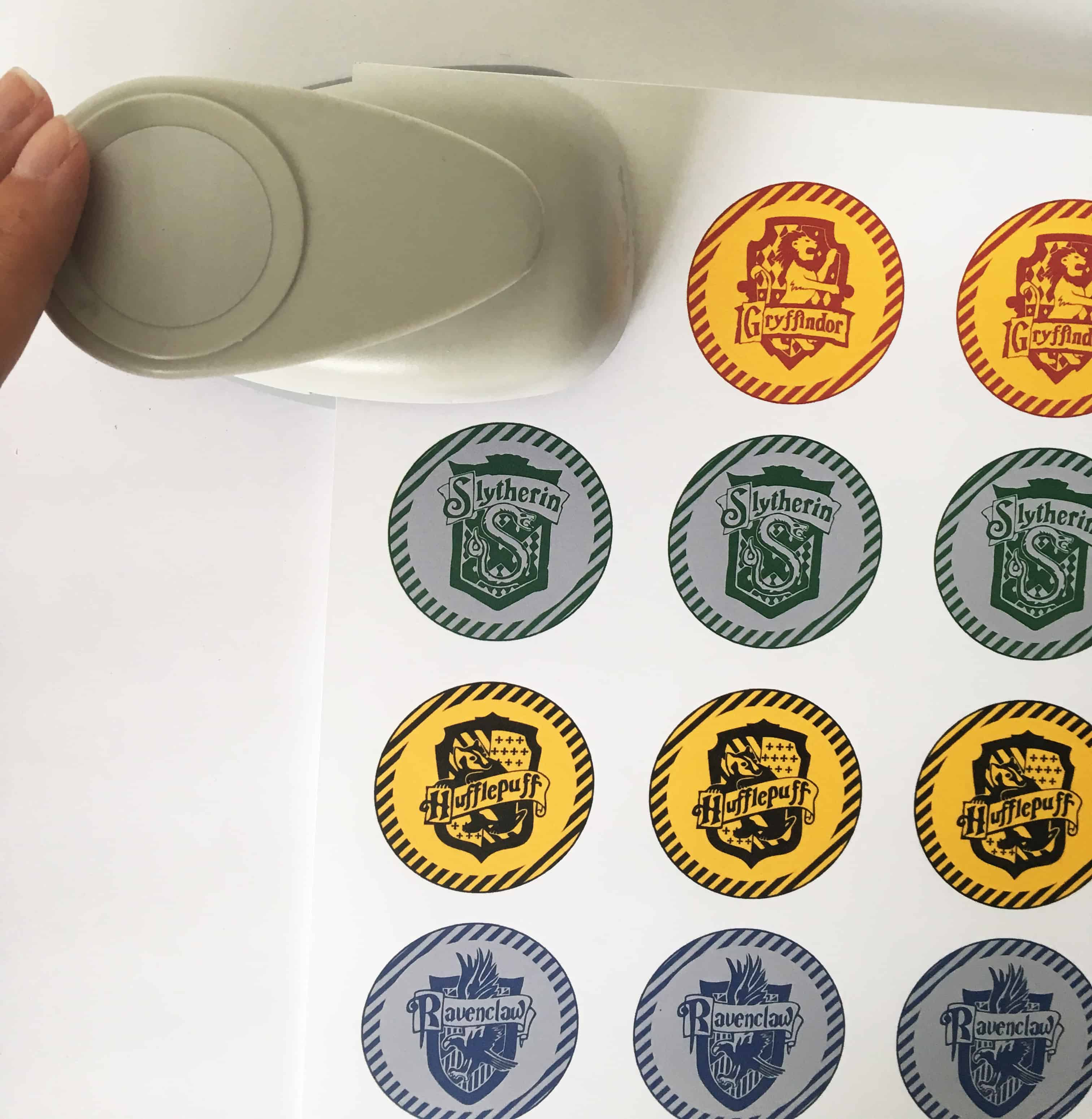 Free Printable Cupcake Toppers Harry Potter Party