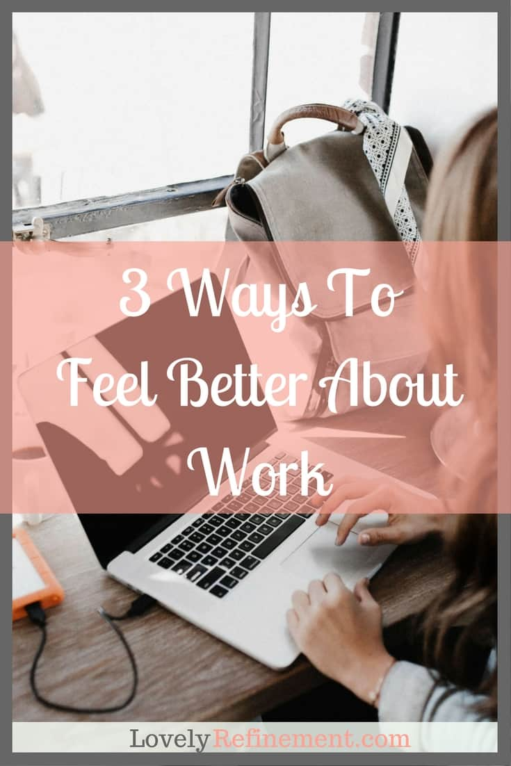 This is for the people who struggle to get through the day at their job. Dealing with difficult co-workers, spending 8+ hours at a job you hate, and dreaming about creating a better life for yourself. Here are some ways to improve your mindset about work.