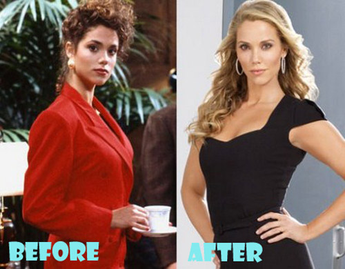 Elizabeth Berkley Plastic Surgery Boob Job