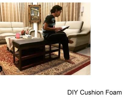 Grey Cushion Foam DIY Resized