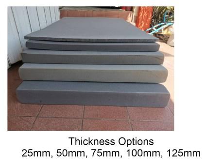 Grey Foam Sheet Various Size
