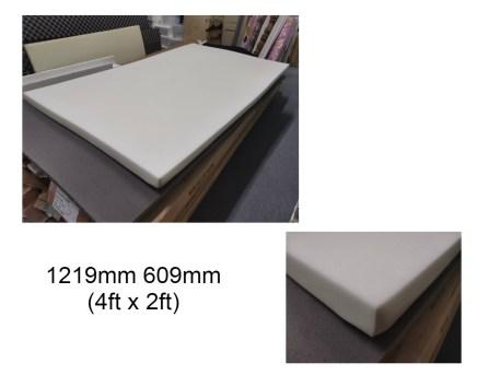 White PU Foam Sheet 4ftx 2ft