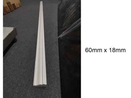 PS Foam Door Casing aka Chair Rail 60x18 (2)