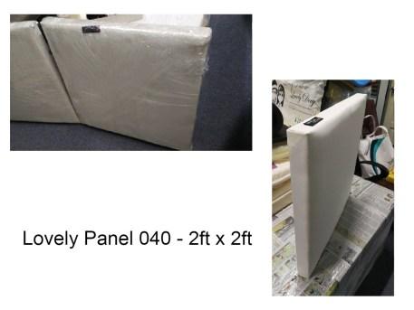 Fabric acoustic Panel resized 2ft x 2ft