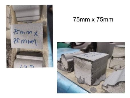 Lightweight Concrete 75mm x 75mm