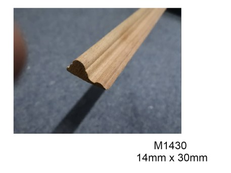M1430 Wood Moulding For wainscoting