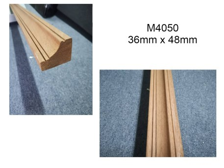 M4050 Hardwood Moulding For Door Casing and Chair Rail