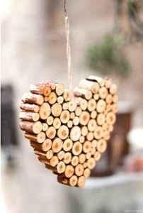 0001 Rustic DIY Wooden Christmas Ornaments Ideas