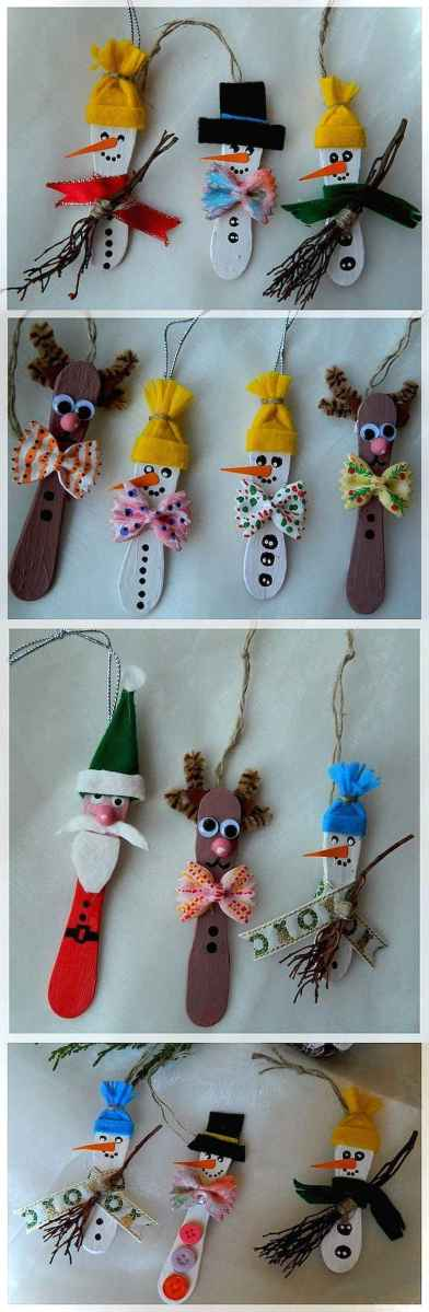 0002 Awesome DIY Wooden Christmas Craft Ideas