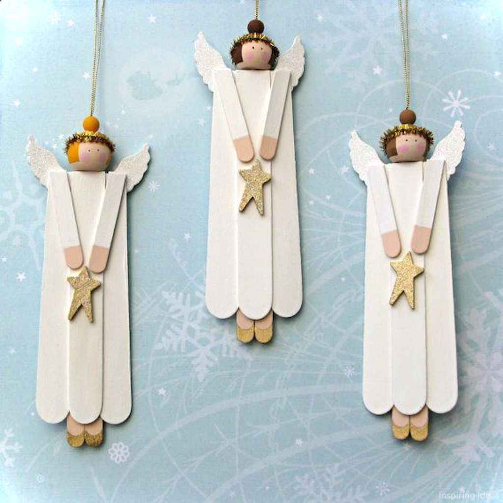 0012 Awesome DIY Wooden Christmas Craft Ideas
