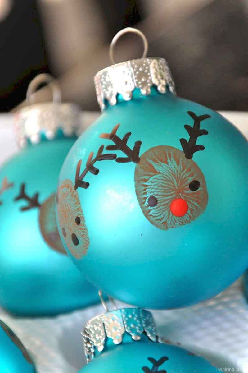 0020 Cute Diy Christmas Ornaments Ideas For Kids Lovelyving