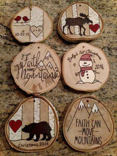 0023 Cute DIY Christmas Ornaments Ideas for Kids