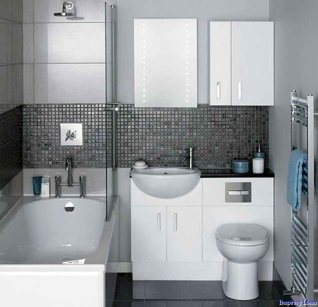 003 Clever Small Bathroom Design Ideas