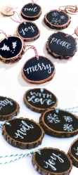0035 Rustic DIY Wooden Christmas Ornaments Ideas
