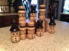 0059 Rustic DIY Wooden Christmas Ornaments Ideas