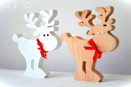 0062 Rustic DIY Wooden Christmas Ornaments Ideas