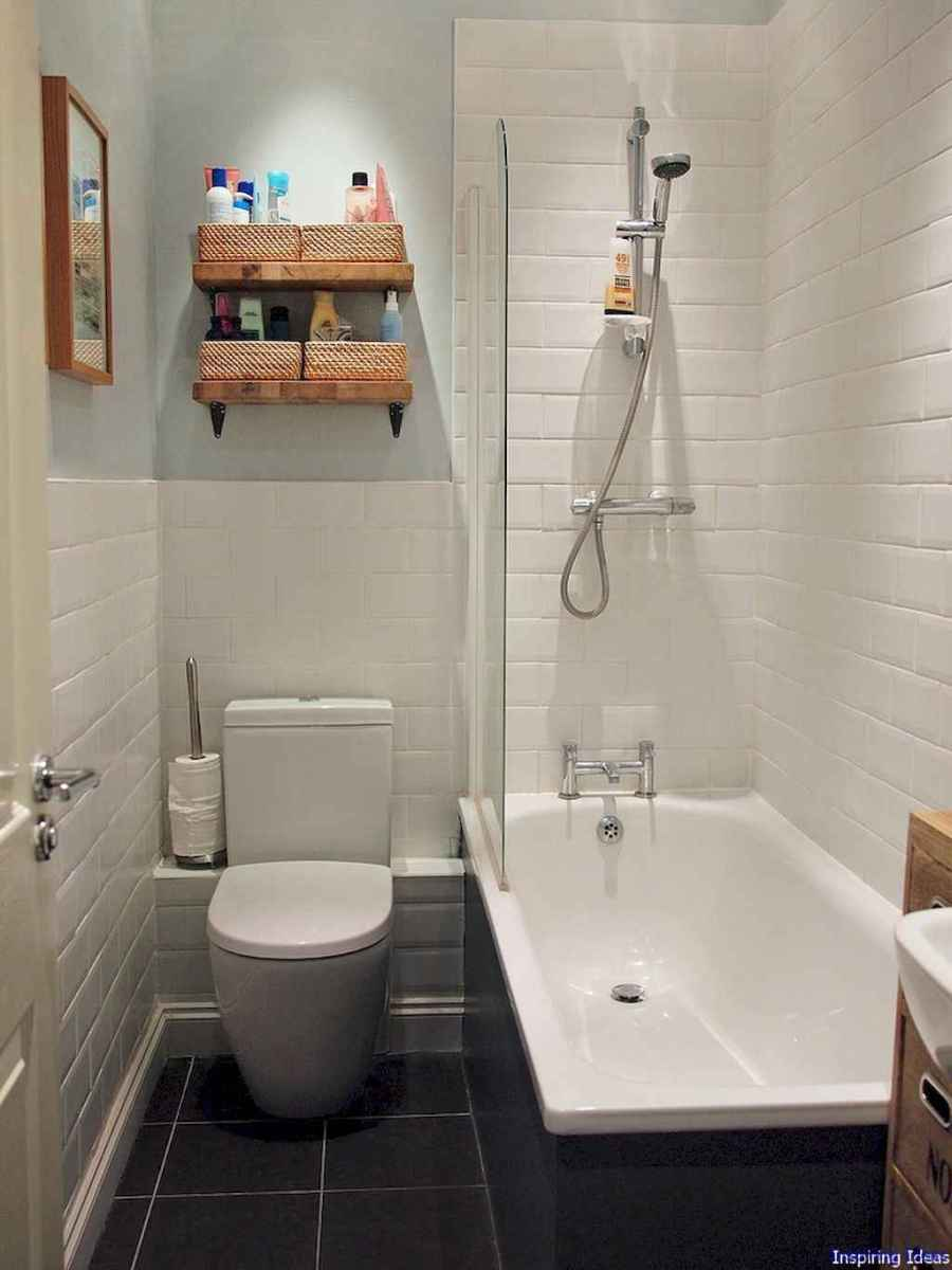 027 Clever Small Bathroom Design Ideas